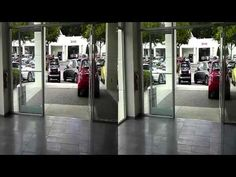 Loups Fiat being driven out of the showroom Fiat 500c, Showroom, Youtube, Youtubers, Fashion Showroom, Youtube Movies