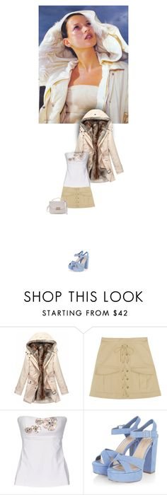 """""""Untitled #1939"""" by hologrammar ❤ liked on Polyvore featuring Trilogy, Roberto Cavalli and FISICO Cristina Ferrari"""