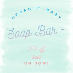 Little Innoscents Goats Milk Soap Bar is 20% off now in our Spring Sale!
