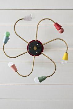 cool MCM Pinwheel pendant light... Italy
