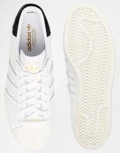 Adidas | adidas Originals Superstar 80s White Trainers at ASOS