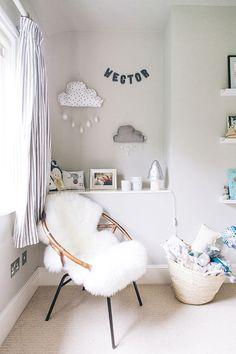 A modern, unisex nursery with a neutral theme. via @deuxpardeuxKIDS