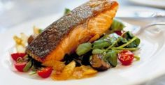 Prime Irish Smoked Salmon char-grilled from Kilshanny House  A restaurant included in the Burren Food Kingdom