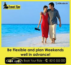 #TravelerTip Be Flexible and plan Weekends well in advance!  If you have vacation days to spare, consider traveling midweek instead of on Friday or Saturday, as you might find more affordable flights or lodging if you travel on days when many people will be in their offices.  In addition, traveling midweek is a great way to avoid the traffic jams and crowded airports and train stations that have become a staple of weekend travel.