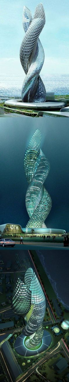 The cobra tower in Kuwait. #crazydesign