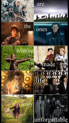 They got all of my favorite fandoms. They even remembered Merlin!--- not in supernatural fandom but shall pin any way