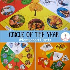 Circle of the Year Montessori Cards