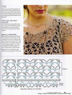 Cetona - Crochet this womans openwork sleeveless top from Rowan Knitting & Crochet Magazine a design by Lisa Richardson using Revive (silk cotton and viscose) and Pure Linen Linen) with a v-neck and multi coloured stripes. This crochet pattern ha Débardeurs Au Crochet, Gilet Crochet, Crochet Tunic, Freeform Crochet, Crochet Diagram, Crochet Chart, Crochet Clothes, Crochet Doilies, Crochet Ideas