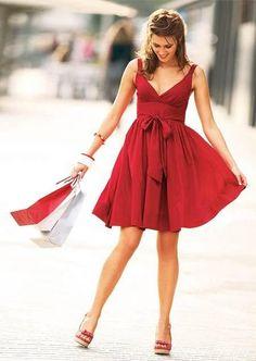 Hermoso vestido rojo <3