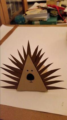 Playful pals - Stampin up. Mr Hedgehog  by Dawn Watson.