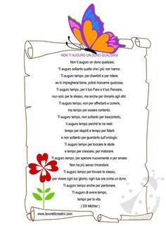 Poesia per fine anno scolastico