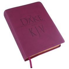 NEW KJV Dake Bible (Burgundy LeatherSoft)