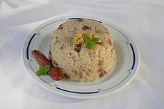 Reis mit Nüssen und Datteln, ein schönes Rezept aus der Kategorie Frucht. Bewertungen: 3. Durchschnitt: Ø 3,0.