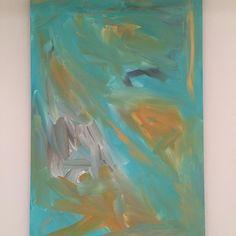 "Abstract Art - TorchWood Art Studio- Meghan E. Barany. www.TorchWoodArtStudio.com ""Interstellar Waltz"" #Meghanbarany #localartists #torchwoodartstudio #abstractpainting #abstractart #artists #art #interstellar #aquaart #goldart"