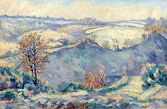 Armand Guillaumin - Crozant, View to Charraud Brid