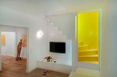 Stair Case Study House 01, Gerd Streng Architekt, Treppenraum