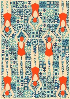 Swimmers by Lou Taylor — On The Wall