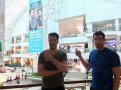 Manila certainly gave @mrdrewscott & I a warm welcome during our fan meet & greet w/ @hgtv Asia :)