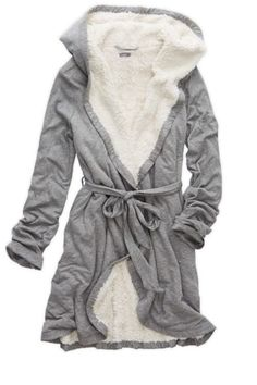 omg this robe looks amazing! Medium or Large to be comfy! - Gabrielle Klecko - cozy omg this robe looks amazing! Medium or Large to be comfy! Pijamas Women, Sleepwear Women, Women's Sleepwear, Bustiers, Nightwear, Mantel, Lounge Wear, Winter Outfits, Style Me