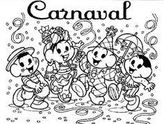 Arquivo com mais de 100 atividades, desenhos para colorir entre outros com o tema carnaval! Baixe as atividades sobre o carnaval.