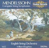 Mendelssohn: Complete String Symphonies, Vol. 2 [CD]