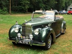 1953 Alvis DHC by Tickford - Classic car list Classic Cars British, Buy Classic Cars, British Sports Cars, British Car, Cars For Sale Uk, Cars Uk, Vintage Cars, Antique Cars, Jaguar