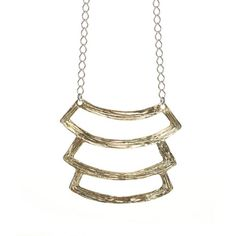 Tier necklace by Odette. $215. I like this very much.