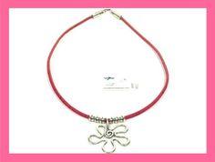 Lovely Cork Necklace with Zamak Flower  Portuguese by CozyDetailz, $19.99