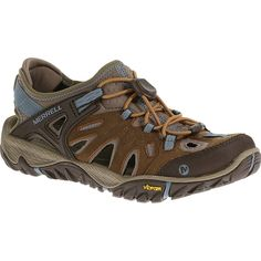 Women - All Out Blaze Sieve - Brown Sugar/Blue Heaven | Merrell
