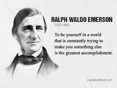 During a time of Industrialization people felt like interchangeable parts, just flat out insignificant. Emerson's transcendentalist ideals opposed this idea arguing that humans are part of this world God created and therefore part of God.
