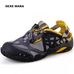 39.54$  Buy here - http://alimod.shopchina.info/go.php?t=32805924827 - new 2017 Size 36-44 Outdoor Sport shoes men Summer Sneakers men Shoes Running shoes for men Brand Walking Anti-skid Off-road 263  #buyininternet
