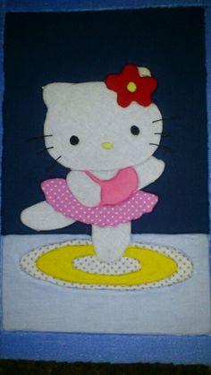 Hello kitty patchwork embutido