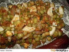 Hrách po Španělsku Czech Recipes, Ethnic Recipes, Black Eyed Peas, Baked Potato, Quinoa, Grains, Recipies, Potatoes, Rice