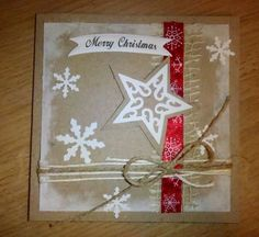 Kika's Designs : Christmas card with star