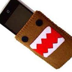 Felt Domo iPhone case!!!!!