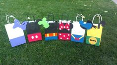 Minnie Mouse Party Bags 1dozen by MagicalBoutique on Etsy, $30.00