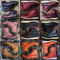 No photo description available. Red Wing Heritage Boots, Red Wing Boots, Lace Up Boots, Leather Boots, Mens Boots Fashion, Vintage Boots, Designer Boots, Sneaker Boots, Cool Boots