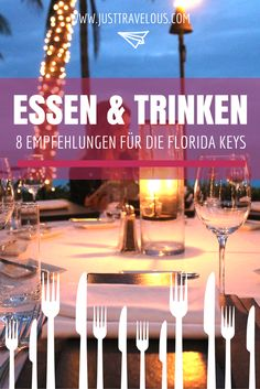 Essen & Trinken auf den Florida Keys – unsere Empfehlungen. Die besten Restaurants, Bars und Cafés, die ihr bei eurer Reise auf die Florida Keys nicht verpassen dürft!