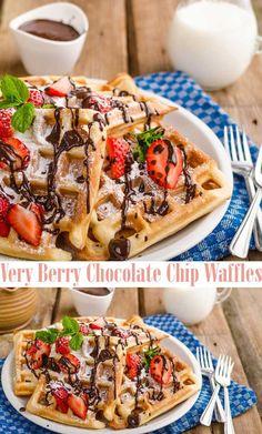 Best Berry Waffles W