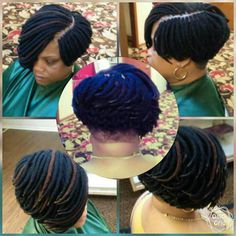 Yarn Bob Braids Bob Style, Bob Braids, Braids For Short Hair, Short Curly Hair, Curly Hair Styles, Natural Hair Styles, African Braids Hairstyles, Short Bob Hairstyles, Hairdos