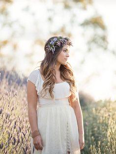 50 Floral Crown Styles + Ideas   Flowers In Her Hair