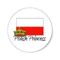 Polish Princess Sticker by flagshirt