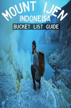 Mount Ijen is an active volcano in East Java, Indonesia. How to get to Mount Ijen, where to stay, Mt. Ijen tour price - a complete guide. Travel Vlog, Travel Videos, Asia Travel, Budget Travel, Travel Guide, Gopro Case, Camera Case, Lombok, Ubud