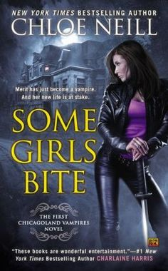 Some Girls Bite Mass Market Cover. March 2014.