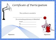 Certificate of partcipation template school certificate of certificate of participation template demplates yadclub Image collections
