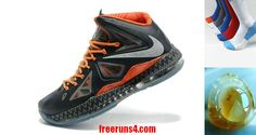 pretty nice 6ad5a 39f03 Lebron 10 Pure Platinum Lebron James X Cheap BHM Anthracite Sport Grey  586770 010