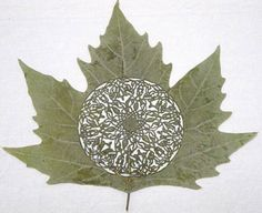maple leaf cut out, I don't know exactly how I could incorporate this into a cello but someday I will.
