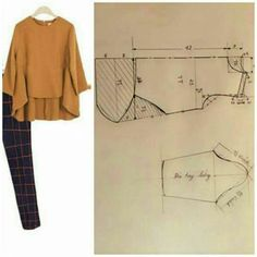 Amazing Sewing Patterns Clone Your Clothes Ideas. Enchanting Sewing Patterns Clone Your Clothes Ideas. Dress Sewing Patterns, Blouse Patterns, Sewing Patterns Free, Clothing Patterns, Blouse Designs, Vintage Patterns, Mode Ab 50, New Mode, Make Your Own Clothes