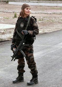 Turkish Female Soldier