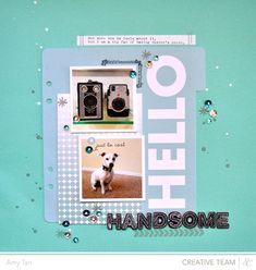 HelloHandsome - SC & Amy Tan - Sequins, splatter, simple, big layers